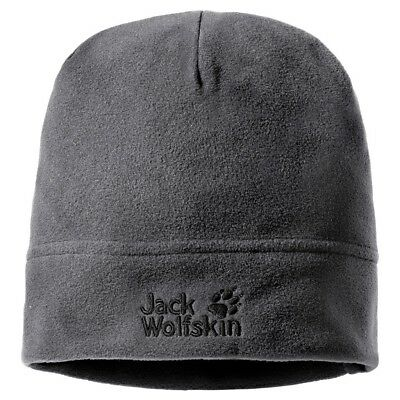 Jack Wolfskin Real Stuff Unisex Mütze, Grey/Heather, One Size, 19590