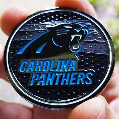 PREMIUM NFL Carolina Panthers Poker Chip Card Protector Golf Marker NEW