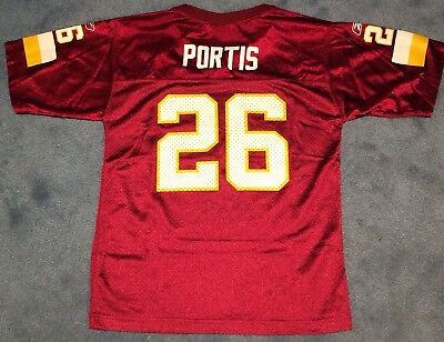 Clinton Portis Washington Redskins  26 Reebok Jersey Youth Size Large  (14-16) b0cf0a679