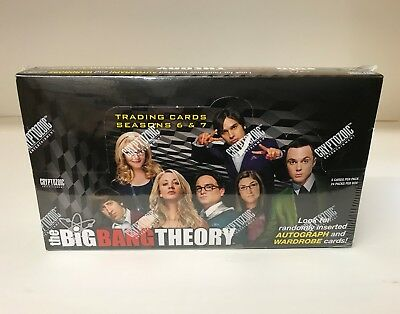 Big Bang Theory Seasons 6 & 7 - Sealed Trading Card Hobby Box - Cryptozoic 2016