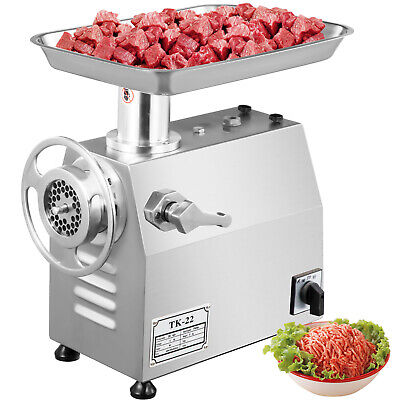 800W Commercial Meat Grinder Mincer Sausage Stuffer 250kg/h powerful Industrial