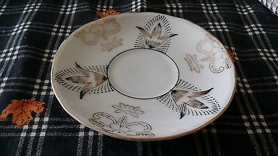 Vintage Hand Painted Demitasse Saucer Made in Occupied Japan