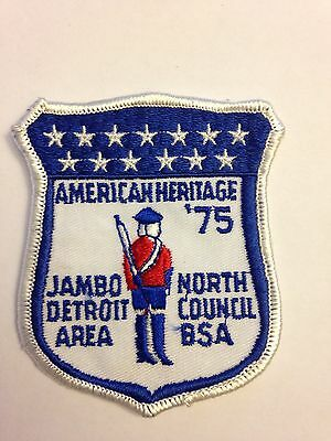 BSA Detroit Area Council - 1975 American Heritage - Jambo North