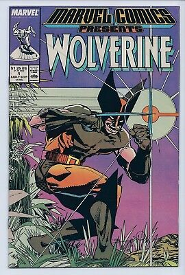 Marvel Comics Presents 1 VF+ 8.5 Copper Age Wolverine Silver Surfer Man Thing
