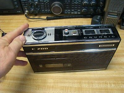 Vintage Grundig C200  Casette Recorder very nice for parts or repair