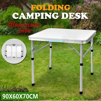 Folding Table Portable Camping Barbecue Stand Laptop Desk Picnic Dining Table XT
