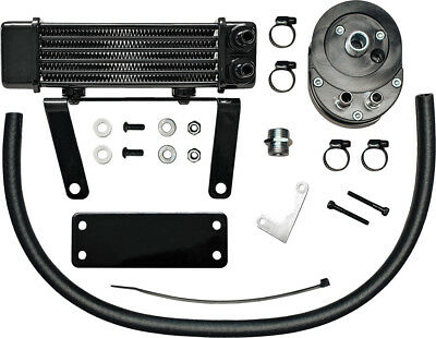 Jagg Oil Coolers Lowmount Oil Cooler System (Black) 750-1290