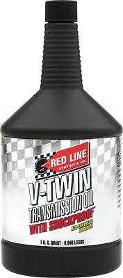 Red Line Synthetic Oil V-Twin Transmission Oil W/Shockproof 1Qt 42804