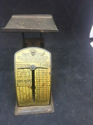Vintage Deluxe Thrifty Postal Scale from I D L Mfg. & Sales Corp (1930's) Dma7