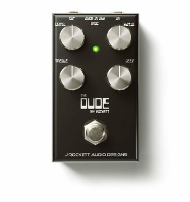NEW J ROCKETT Audio Designs The Dude Dumble voiced Overdrive in STOCK in shop