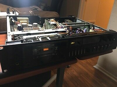 Technics M85 Professional Stereo Cassette Deck - Powers Up - PARTS/REPAIR