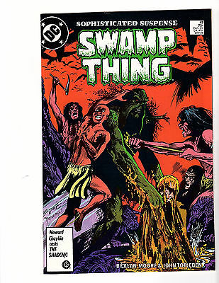 Swamp Thing #48 (1986, DC) Alan Moore! VF+ Constantine!