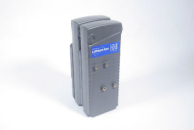 IDX dual NP Lithium-ion battery holder with V-mount plate
