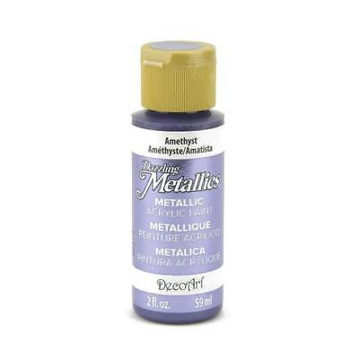 DecoArt Dazzling Metallics Acrylic Paint 59ml (2oz)