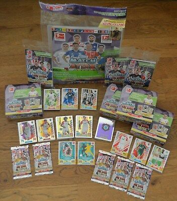 Topps Match Attax Extra 2018 Starterpack Booster Display Blister aussuchen 17/18