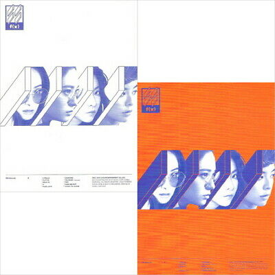 F(x) -  4 Walls [Vol.4] CD+Photocard+Photo Booklet New K-Pop