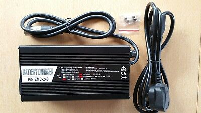 36 V, 5 Amp Charger for Electric Bike Lithium (Li) Battery, choice of connectors