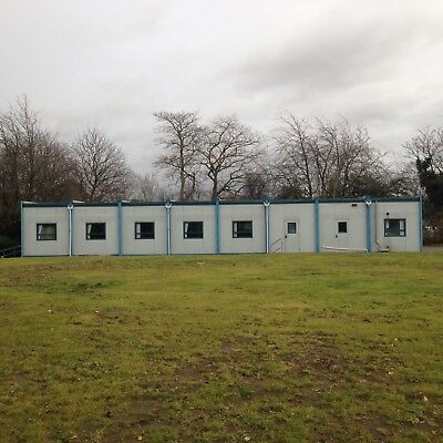 Portable Cabin with Separate Office Space - Internal Office