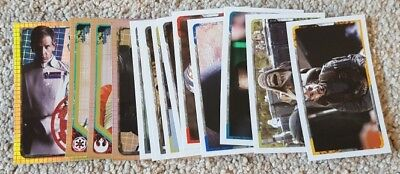 Topps Star Wars Rogue One Stickers - 14 stickers including 4 shiny