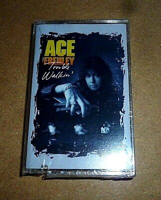 Ace Frehley - Trouble Walkin / MC / 1989 / OVP Sealed / USA Cassette Tape / Kiss