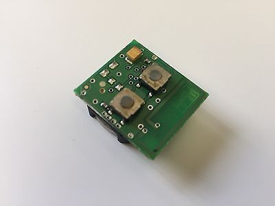 Genuine Vauxhall Vectra Astra Zafira 2 Button Circuit Board None Led Type Bosch