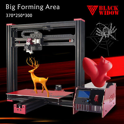 HOT DIY 3D Printer TEVO Black Widow with MKS Mosfet 3d printing Auto Leveling US
