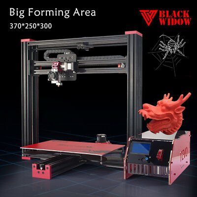 Tevo Black Widow 3D Printer DIY Kit includes BL touch Auto Leveling LCD Display