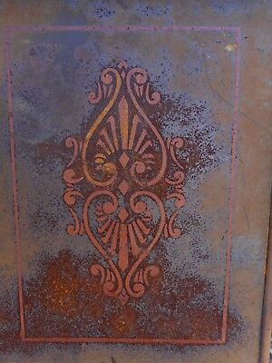 Bed Foot Board Architectural Salvage Shabby Farmhouse Country Decor Rusty