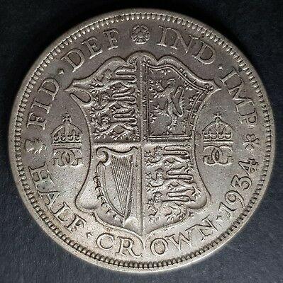 1920 - 1936 King George V Silver Half Crown Coins - Choose Your Year!