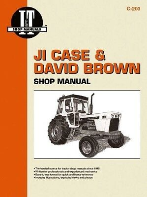 David Brown Tractor Workshop Manual - covering various models as below