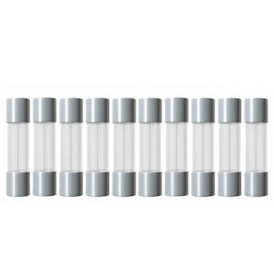 10X 2A Fuse Glass Tube Fuse Slow Blow 0 25//32In 1 2 3,15 4 5 8 10 A Fuses