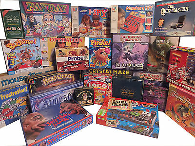 Choose your game - Monopoly - Cluedo - Game of Life - Go For Broke