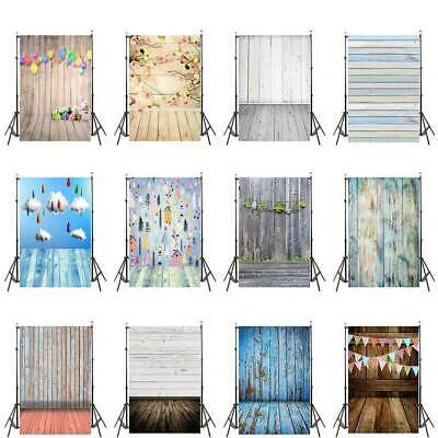 New Retro Floor Plank Photography Background Studio Photo Backdrop 3x5ft/5x7ft