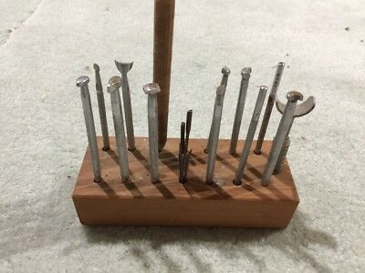 Lot Of Vintage Leather Crafting Tools
