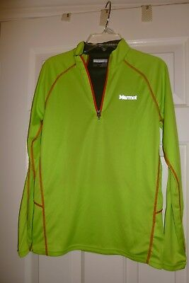 Marmot Lightweight Nylon Shell in Neon Green- Youth Size XL