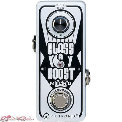 Pigtronix Class A Boost Micro Guitar Effects Pedal