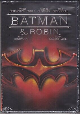 Dvd Video **BATMAN E & ROBIN** nuovo sigillato 1997