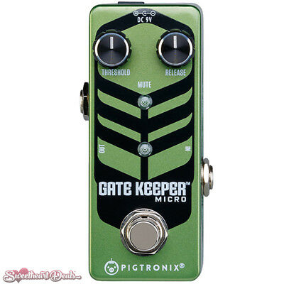 Pigtronix Gatekeeper Noise Gate Micro Guitar Effect Pedal