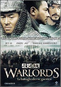 Dvd Video **THE WARLORDS ~ LA BATTAGLIA DEI TRE GUERRIERI** nuovo sigillato 2009