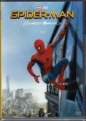 Dvd Marvel **SPIDER-MAN HOMECOMING ~ AVENGERS ~ SPIDERMAN** nuovo 2017