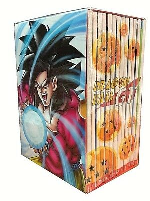 13 Dvd Lotto Stock Box Cofanetto «DRAGON BALL GT» serie completa