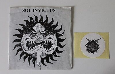 """Sol Invictus first edt. lim. black 7"""" Single See The Dove Fall Death In June"""