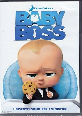 Dvd DreamWorks **BABY BOSS** nuovo 2017