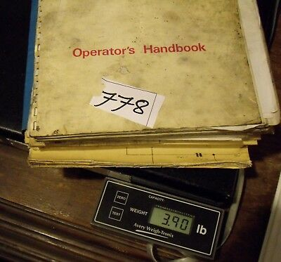 Machine Shop Tool Manuals Herbert/DeVlieg 3H & 43H Spiramatic Jigmils