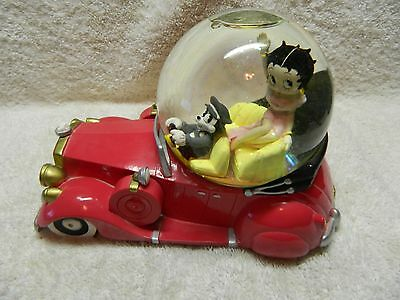 Betty Boop Resin Water Globe MGM Grand Las Vegas 1997 KFS/Fleischer