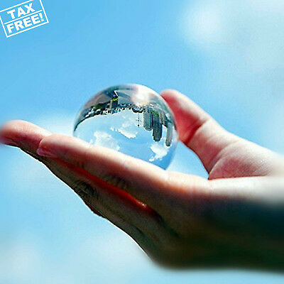 Clear Crystal Glass Ball Quality Sphere Lens Photography Picture Decoration 60mm