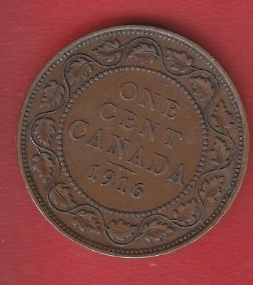 Canada 1Cents 1916