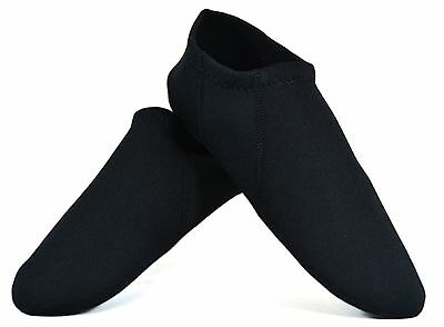 Nufoot Men's Travel Slippers Black Large