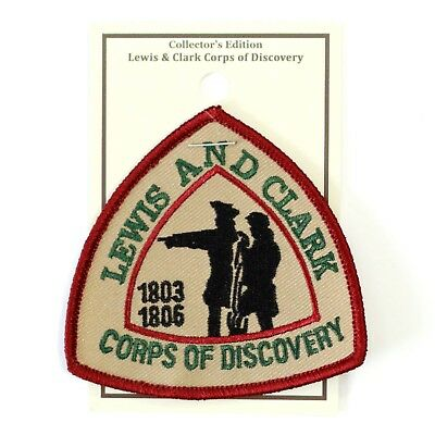 Official Lewis & Clark National Historic Trail Souvenir Patch Corps of Discovery