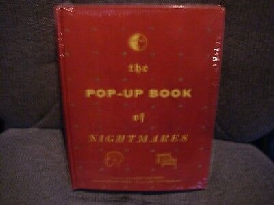 THE POP-UP BOOK of NIGHTMARES GARY GREENBERG ST. MARTINS PRESS NEW SEALED 2004